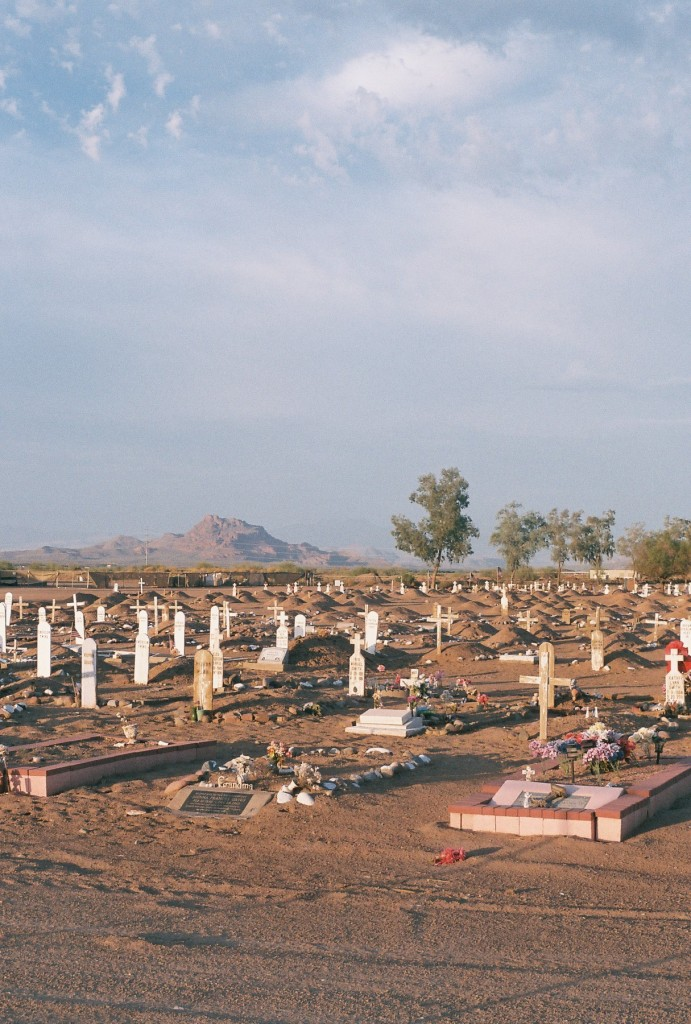 This is a cemetery on a Native American reservation in Mesa. It's not too far from where I live and I like to drive over to this area sometimes if I want to relax and think.