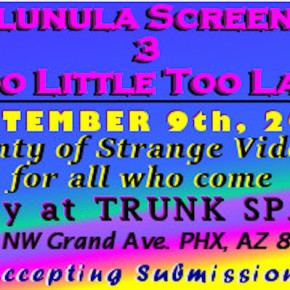 Call for Submissions: De'Lunula Screeners 3