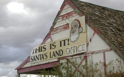 Abandoniers! — Who Wants to Buy Santa Claus, AZ? Nobody.