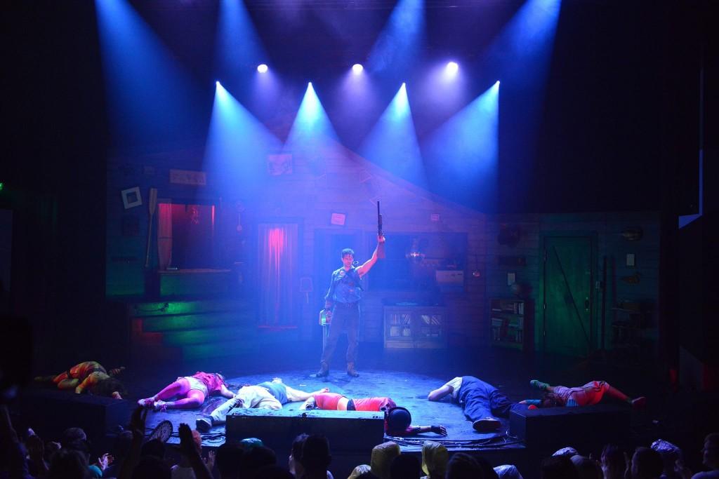 evil dead the musical delunula