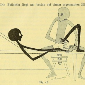 That Time Aliens Taught the Germans Gynecological Gymnastics