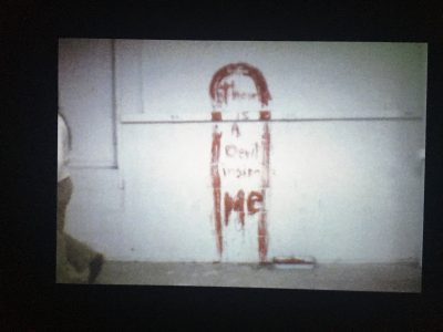 "Ana Mendieta ""Blood Sign"""
