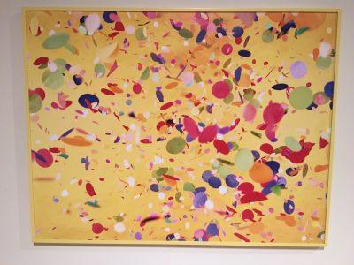 "Gina Osterloh ""Orifice and Color Field, Yellow Maximum"""