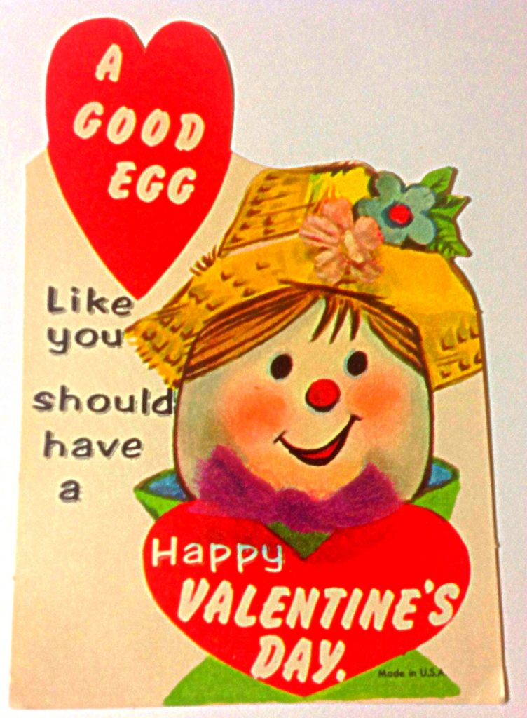 Calling someone a 'good egg' is a surefire way to make those panties drop.