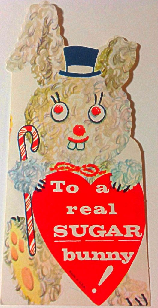 Sugar bunnies are people who sleep with you for cocaine. (IDK, probably...)
